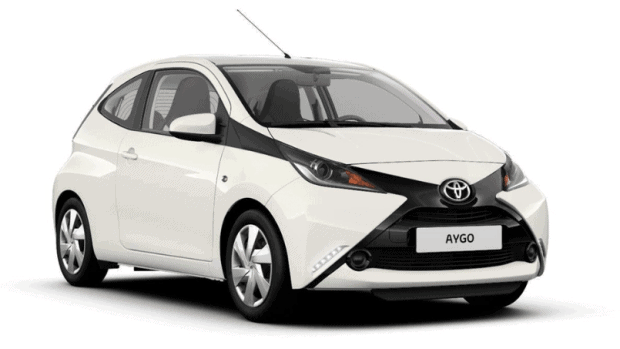 Toyota Aygo Private Lease wit