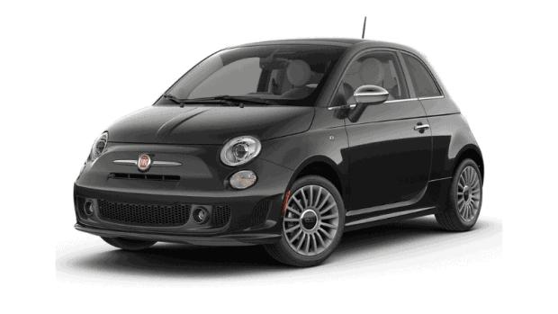 Fiat 500 Hybride Private Lease Zwart